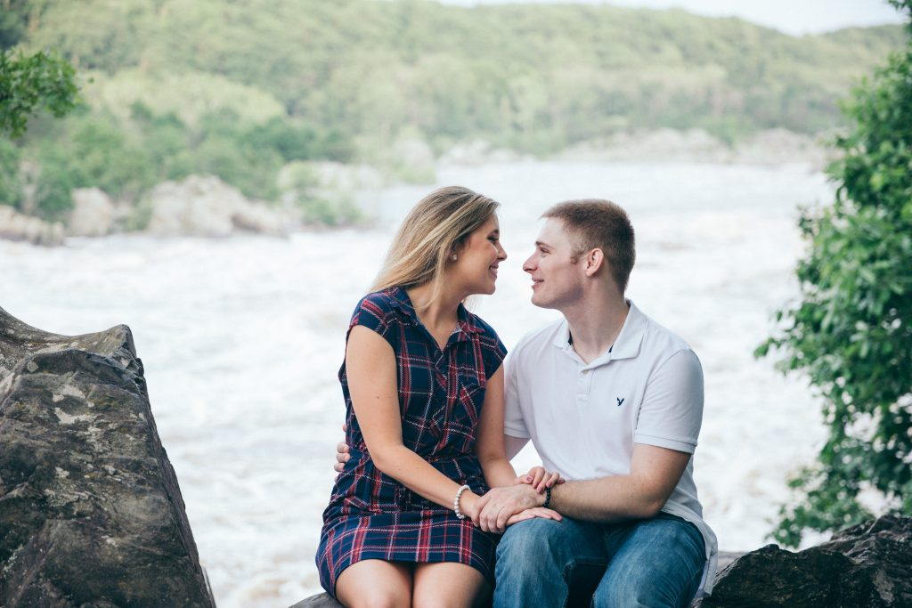 Great Falls Virginia Engagement Session